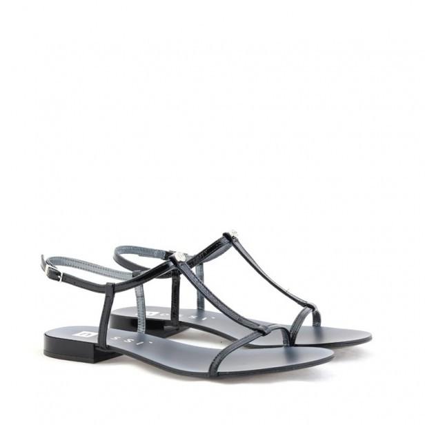 Sandały Nessi 49004 czarny 7