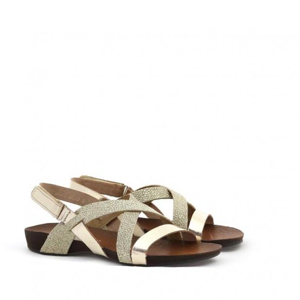Sandały Lemar 40032 Złoto