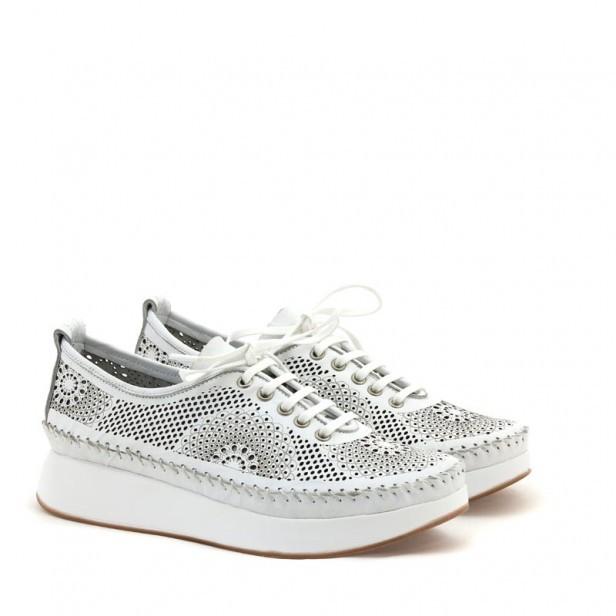 Sneakersy Venezia 261107 WHITE