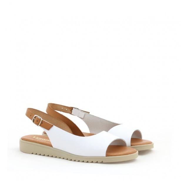 Sandały Verano 1205 Blanco Sabana