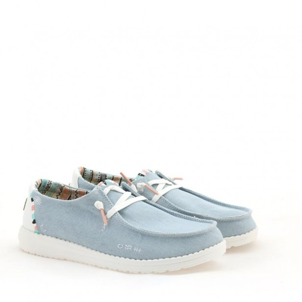 Sneakersy Hey Dude Wendy Boho Light Denim