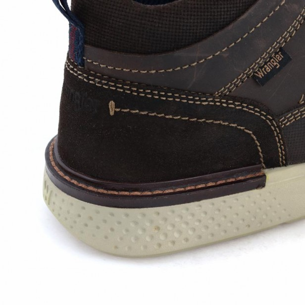 Wrangler Discovery Mid WM12091A 030 Dk. Brown