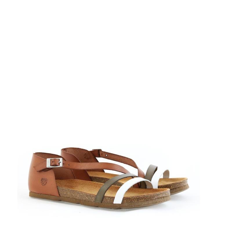 Sandały Yokono Villa-057_Blanco_Nuez