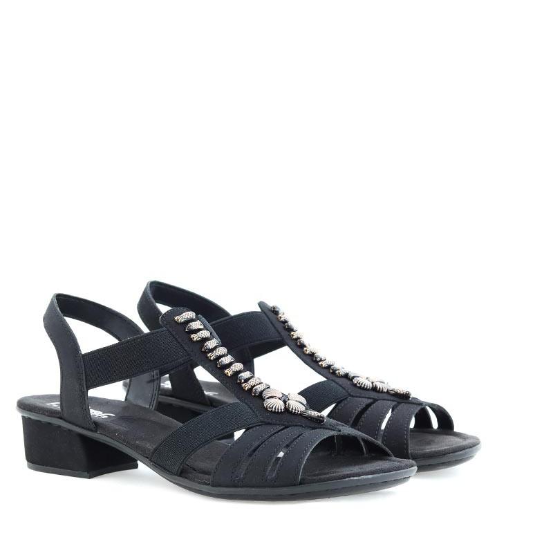 Sandały Rieker V6206-00