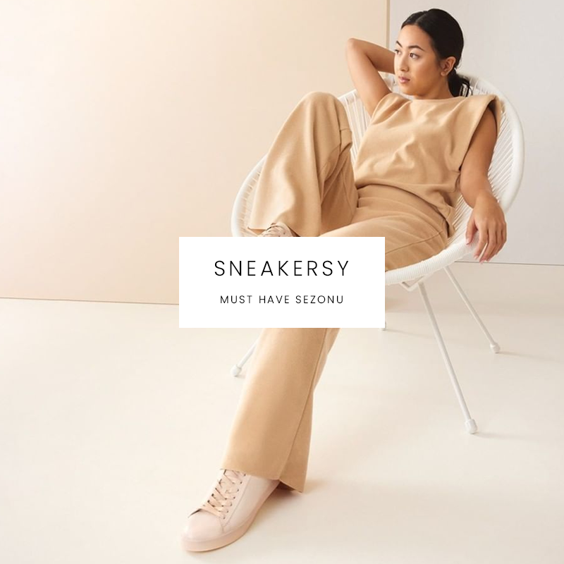 Sneakersy - must have sezonu
