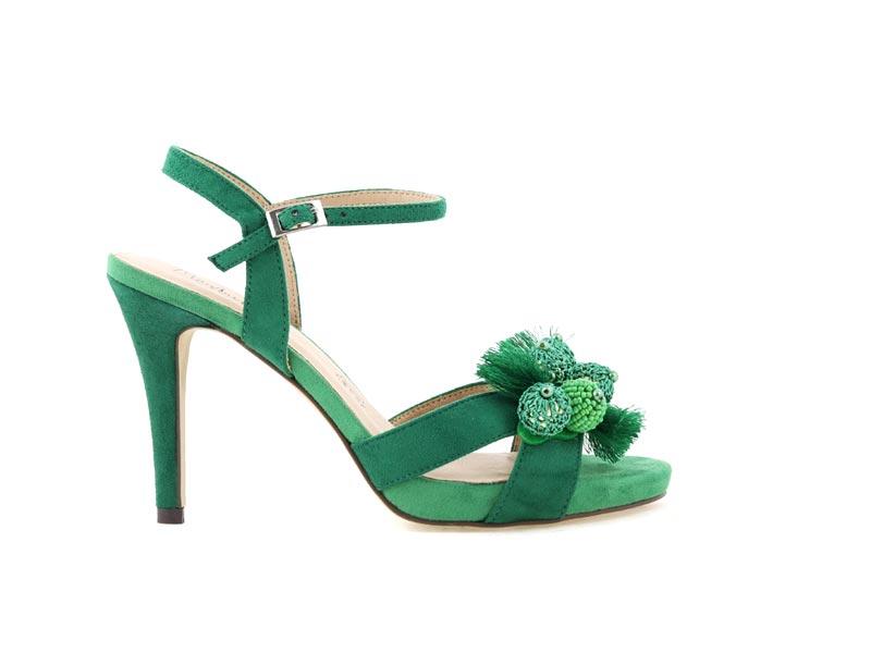 Sandały MENBUR 20385 zielony